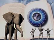 The Kingdom And The Myth Of Man Print by Jon D Gemma