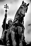 Catholic Fine Art Prints - The Kings Horse Print by Syed Aqueel