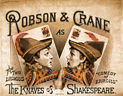 Advertisment Posters - The Knaves Of Shakespeare Poster by Marcie Adams Eastmans Studio Photography