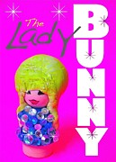 Gay Digital Art Originals - The Lady Bunny by Ricky Sencion