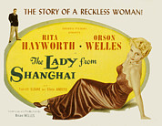 Posth Posters - The Lady From Shanghai, Orson Welles Poster by Everett
