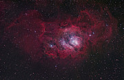 Starfield Photo Framed Prints - The Lagoon Nebula Framed Print by Robert Gendler
