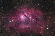 Starfield Framed Prints - The Lagoon Nebula Framed Print by Roth Ritter