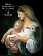 Bible Pastels - The Lamb Of God by Joyce Geleynse