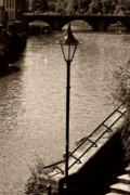 River Avon Prints - The Lamp Print by Brian Roscorla