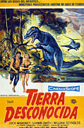 1957 Movies Prints - The Land Unknown, Aka Tierra Print by Everett