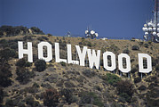 North Prints - The Landmark Hollywood Sign Print by Richard Nowitz