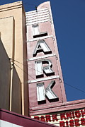 Old Theater Prints - The Lark Theater in Larkspur California - 5D18489 Print by Wingsdomain Art and Photography