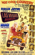 Husky Art Prints - The Las Vegas Hillbillies, In Vehicle Print by Everett