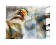 Interpretive Metal Prints - The Last Dance Metal Print by Bob Salo