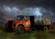 Delivery Truck Prints - The Last Delivery Print by Lori Deiter