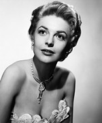 1950s Portraits Metal Prints - The Last Frontier, Anne Bancroft, 1955 Metal Print by Everett