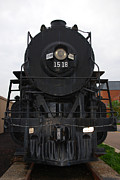 Technical Art - The Last Iron Horse Loc 1518 in Paducah KY by Susanne Van Hulst