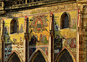 Mosaic Photos - The Last Judgment - St Vitus Cathedral Prague by Christine Till