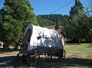 Conestoga Wagon Photos - The Last Leg in Color by Charles Robinson