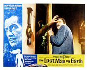 Terrified Posters - The Last Man On Earth, Vincent Price Poster by Everett