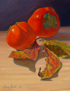 Naturalistic Originals - The Last of the Persimmons by Elena Roche