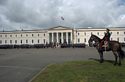 Household Cavalry Framed Prints - The Last Rehearsal Of The Sovereigns Framed Print by Andrew Chittock
