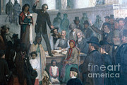 Abolition Photos - The Last Slave Sale by Photo Researchers