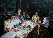 New Testament Painting Originals - The Last Supper by Dave Martsolf