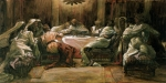 Apostles Paintings - The Last Supper by Tissot