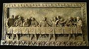 Religion Reliefs - The Last Supper Wall Plaque by Goran