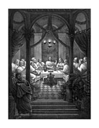 Jesus Posters - The Last Supper Poster by War Is Hell Store