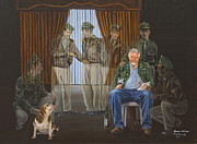Beagle Paintings - The Last Survivor by Bob Wilson