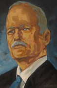 Ndp Posters - The late Honorable Jack Layton Poster by John Malone