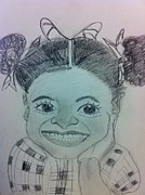 Missing Child Art - The late Jahessye Shockley by Charita Padilla