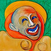 Smiles Mixed Media - The Laugh of a Clown by Dan Earle