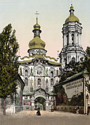 Kiev Framed Prints - The Lavra Gate - Kiev - Ukraine - ca 1900 Framed Print by International  Images