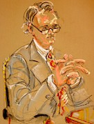 Lawyers Paintings - The Lawyer by Les Leffingwell