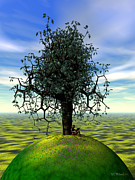 Kites Digital Art - The Learning Tree by Walter Neal