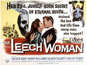 1960s Poster Art Posters - The Leech Woman, Coleen Gray, Grant Poster by Everett