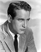 1950s Portraits Posters - The Left Handed Gun, Paul Newman, 1957 Poster by Everett