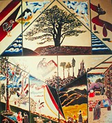 Montreal Memories Art - The Legend of the cedar tree by Ray Khalife
