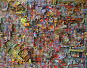Port Town Mixed Media - The lego city by Dylan Chambers