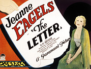 1929 Movies Framed Prints - The Letter, Jeanne Eagels, 1929 Framed Print by Everett