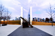 State Park Digital Art Posters - The Liberty State Park 911 Memorial Poster by Bill Cannon
