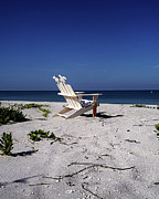 Beach Chair Photo Framed Prints - The Life GP Framed Print by Chris Andruskiewicz