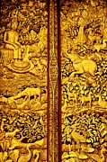 Inner Framed Prints - The Life of Buddha Framed Print by Dean Harte