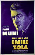 1937 Movies Posters - The Life Of Emile Zola, Paul Muni, 1937 Poster by Everett