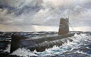 Navy Paintings - The Light That Fractures by Tim Johnson