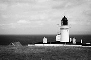 The Lighthouse At Dunnet Head Most Northerly Point Of Mainland Britain Scotland Uk Print by Joe Fox