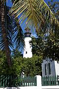 Key West Prints - The Lighthouse in Key West II Print by Susanne Van Hulst