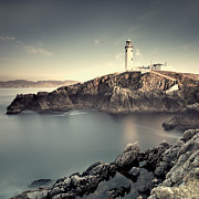 Cliff Lee Framed Prints - The Lighthouse Framed Print by Pawel Klarecki