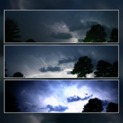 Adam Lecroy Posters - The Lightning Story Poster by Adam LeCroy