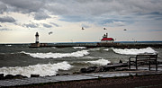 Duluth Art - The Lights in the Storm by David Wynia