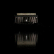 The Lincoln Memorial Print by Kim Hojnacki